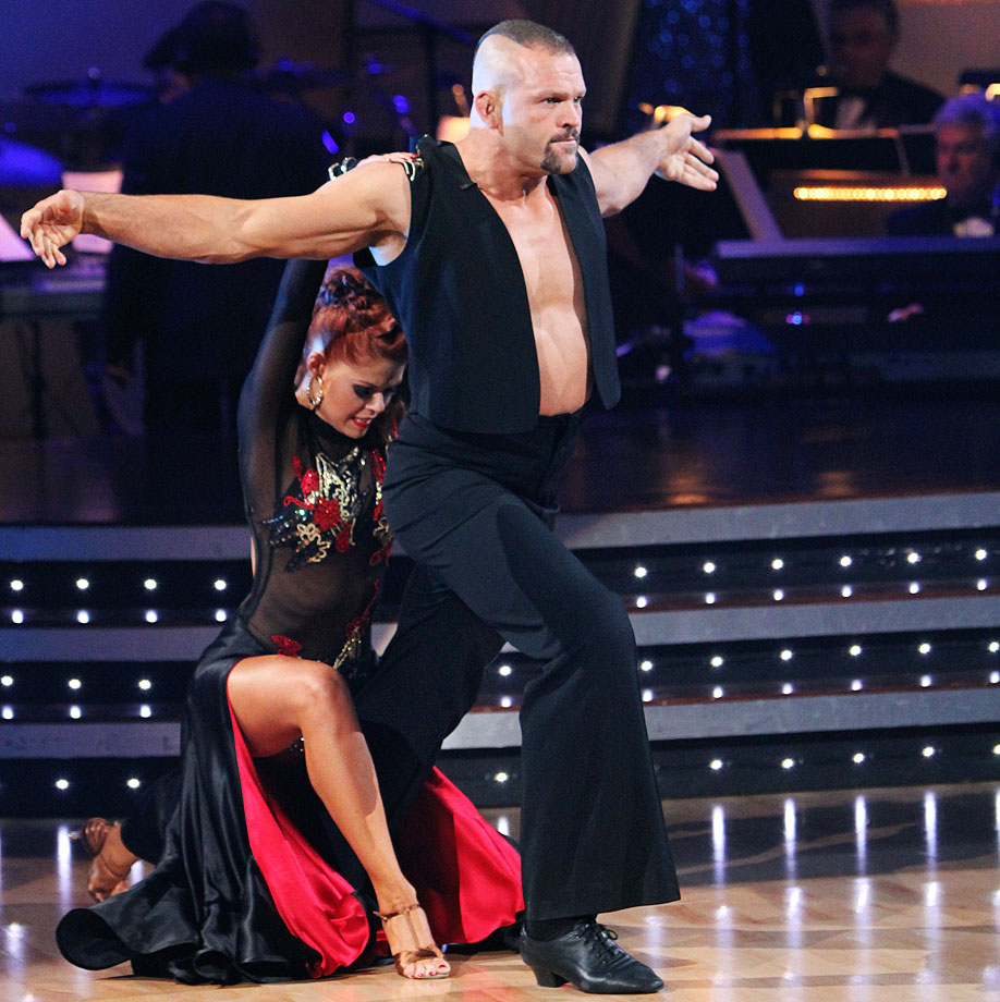 UFC Hall of Fame champion Chuck Liddell finished in 11th place with dancing partner Anna Trebunskaya in Season 9.