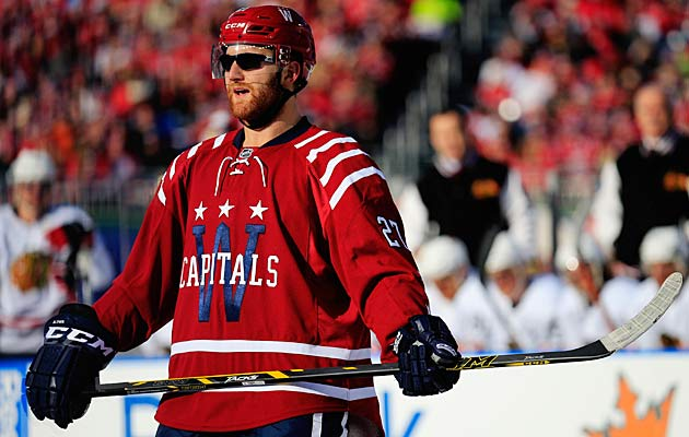 Washington's Karl Alzner looking cool in shades.