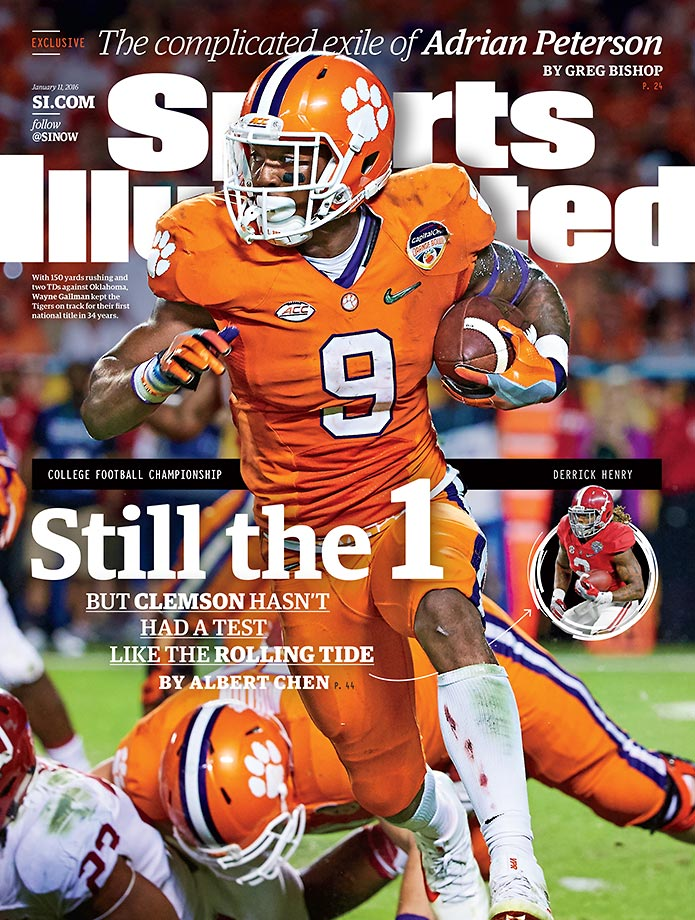 The new kids on the block continue to turn heads and roll over opponents, but can these Clemson Tigers take down Alabama and prove to the college football world that they're the best?