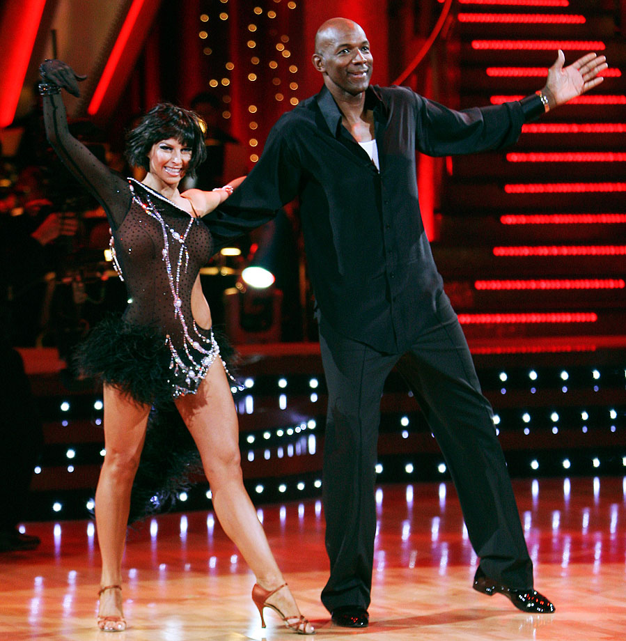 NBA Hall of Fame shooting guard Clyde Drexler finished in 8th place with dancing partner Elena Grinenko in Season 4.