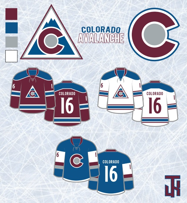Check out these redesigned uniforms for every NHL team 8610997ba86