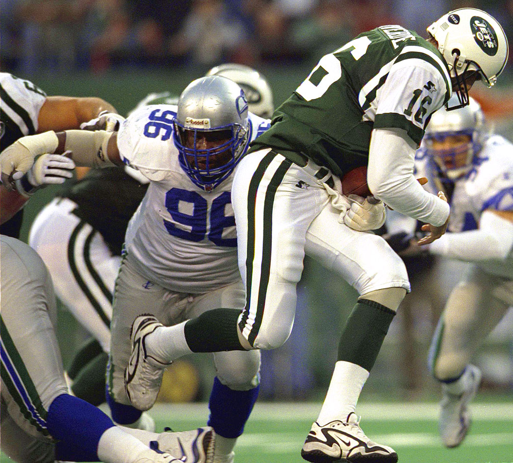 The eight-time Pro Bowl selection and three-time first-team All-Pro defensive tackle was enshrined in Canton in 2012. Kennedy played the entirety of his 11-year pro football career with the Seahawks. His most dominant season was probably 1992, in which he notched 14 sacks and won the NFL Defensive Player of the Year.