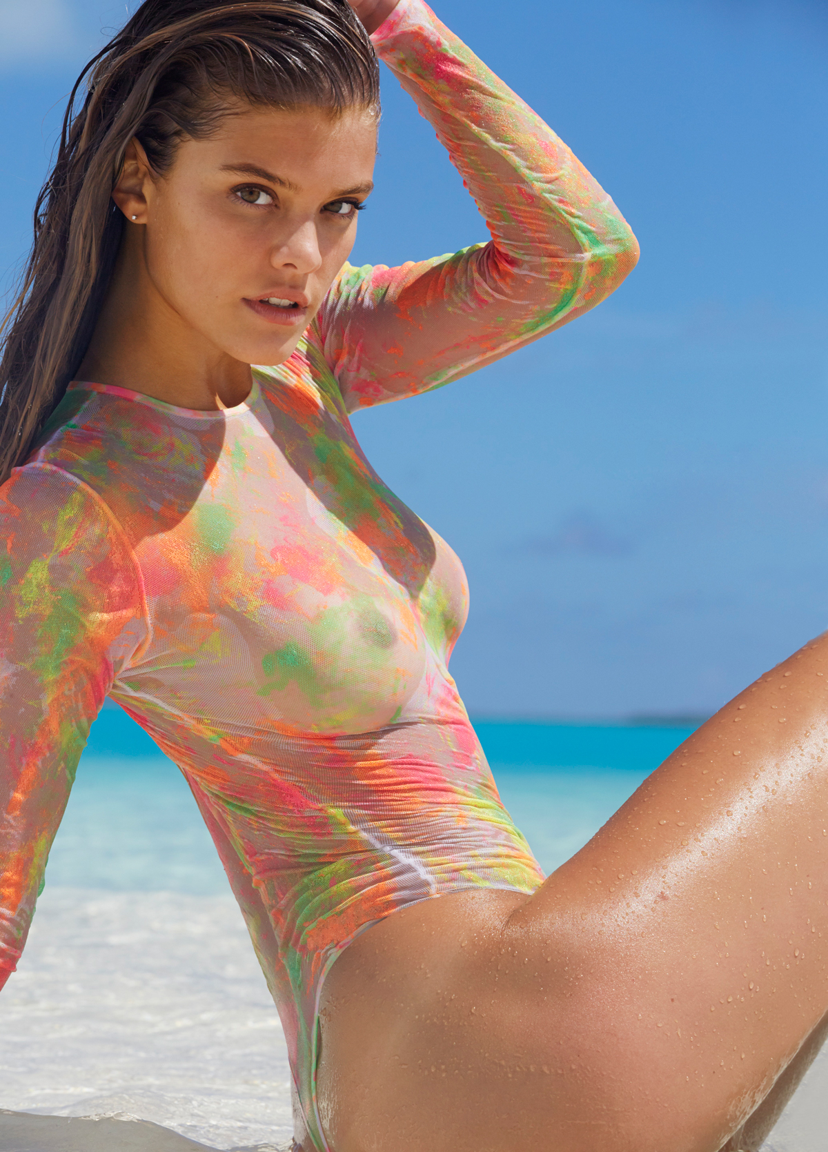 Nina Agdal in the Cook Islands, SI Swimsuit 2014