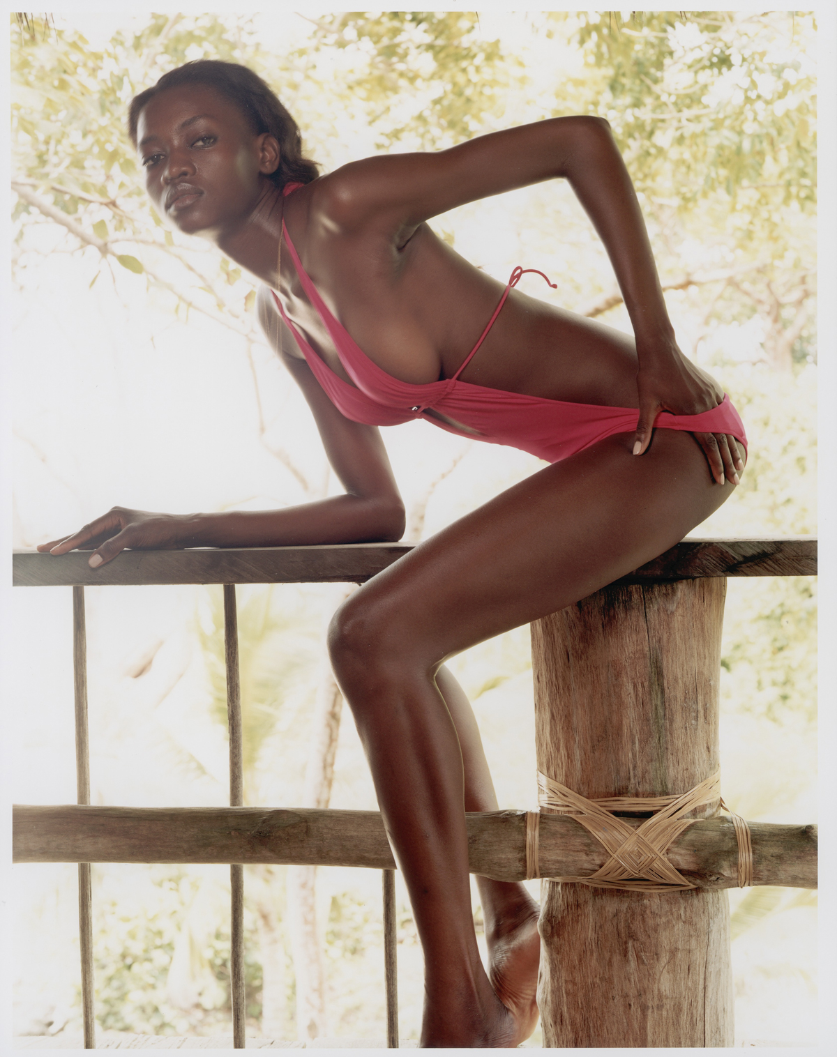 Oluchi Onweagba in Columbia, SI Swimsuit 2006