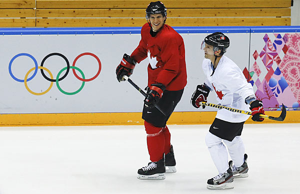 No Steven Stamkos, but Canada won't lack firepower with Sidney Crosby and Martin St. Louis.