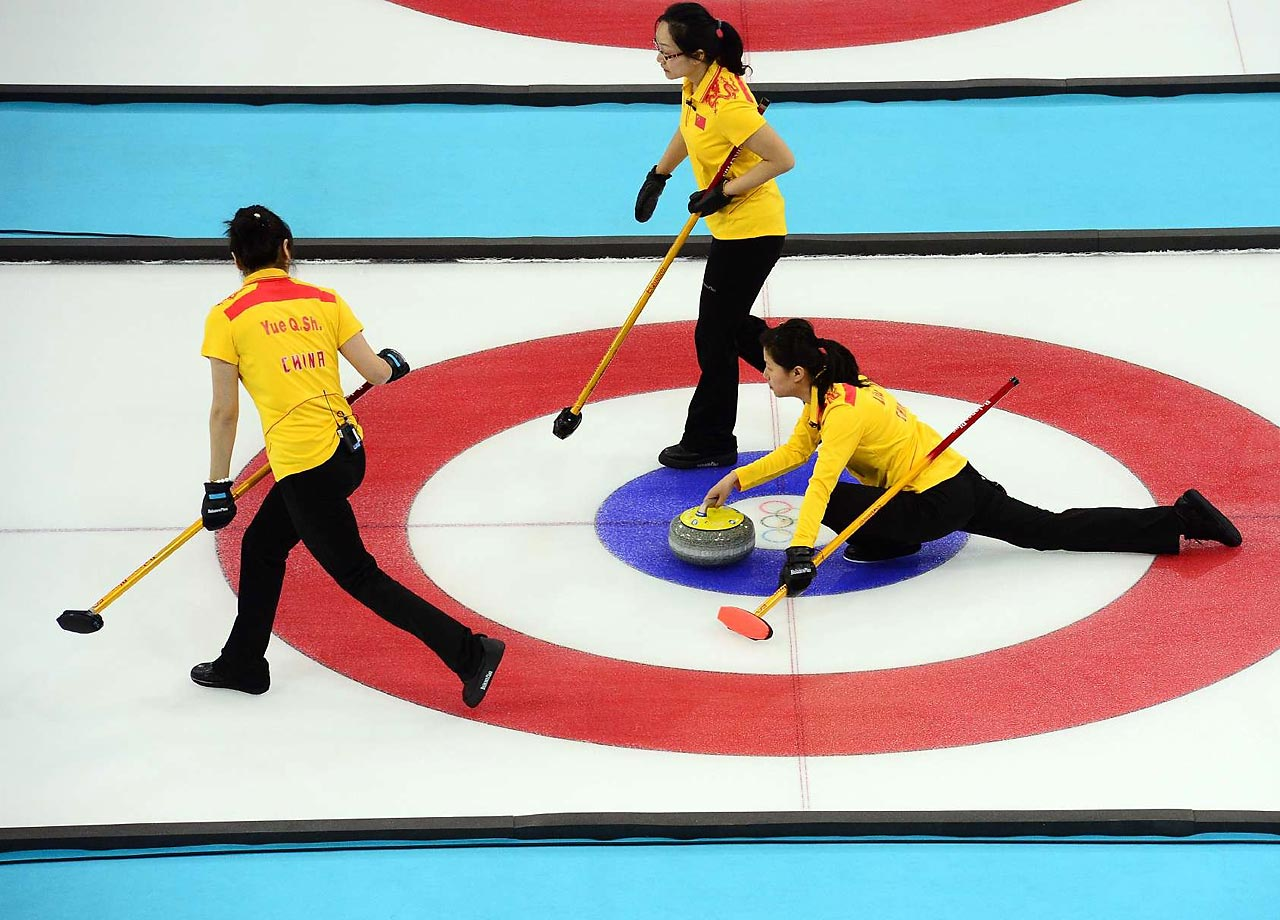 The Chinese curling delegation failed to medal in painful fashion. The team appeared headed for a medal, but two technical errors by the squad caused China to miss out on what would have been its first Olympic men's curling medal. First, skip Liu Rui committed a hog-line violation in the penultimate stone of the ninth end. Then vice skip Xu Xiaoming committed a hog-line violation with China's fourth-to-last rock of the extra end. When the players did not release their shots in timely fashion, the stones were pulled.