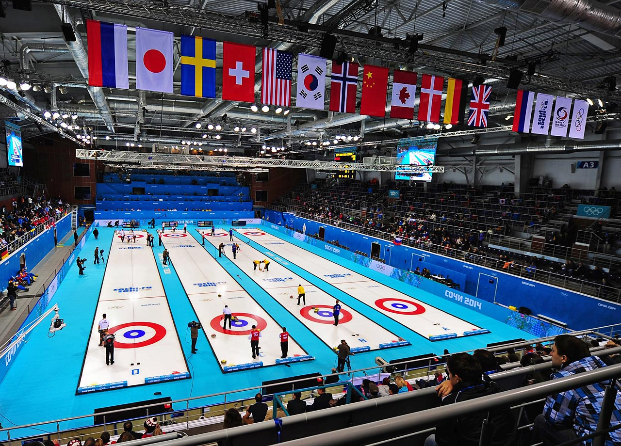 An overview of the men's curling competition.