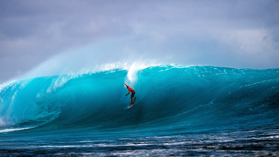 Dane Reynolds at the Fiji Pro.
