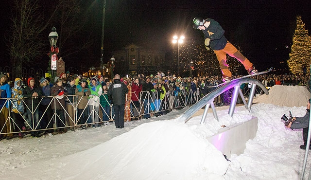 Darcy Sharpe in the men's streetstyle competition.