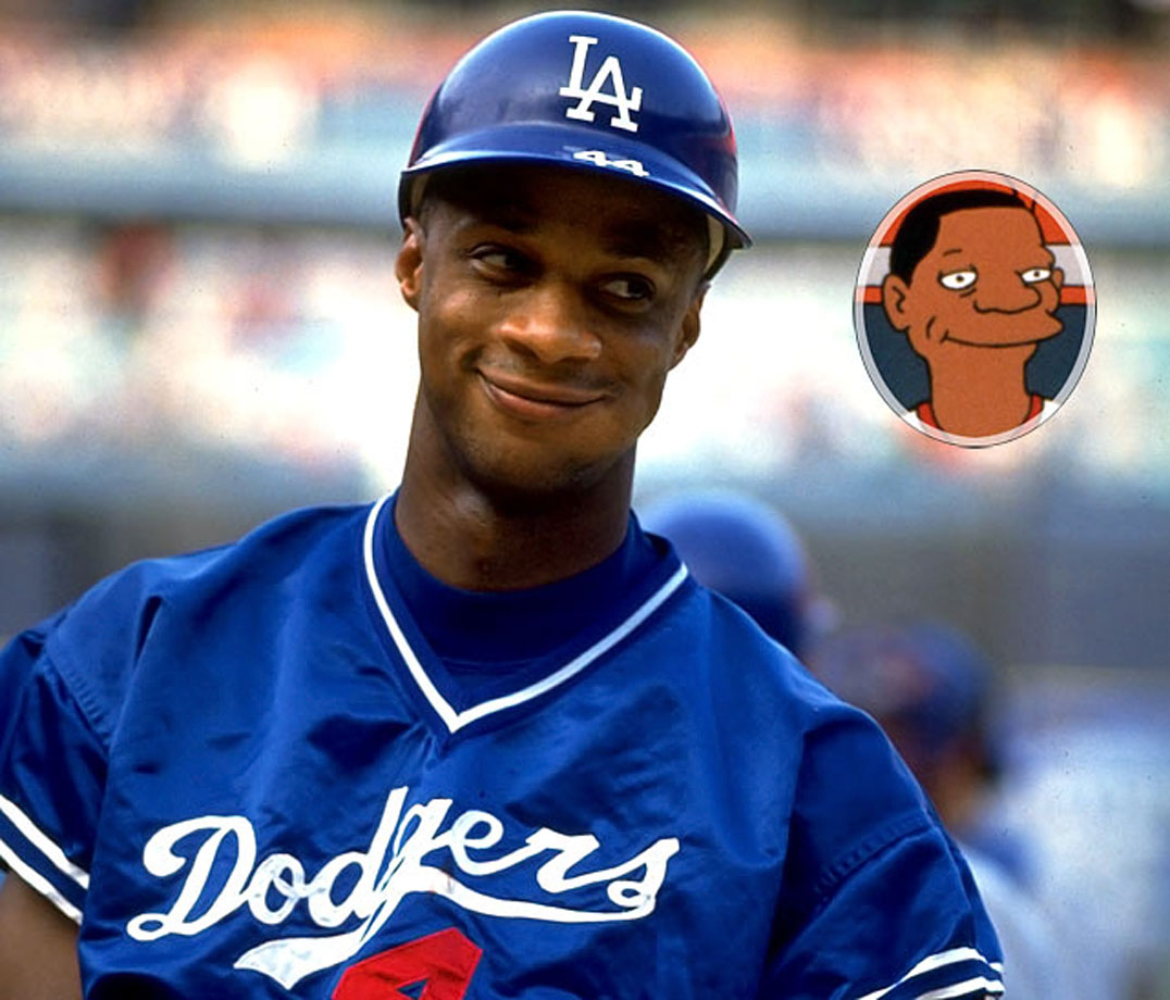 Memorable Moment — Homer: ''You're Darryl Strawberry.'' Strawberry: ''Yes?'' Homer: ''You play right field.'' Strawberry: ''Yes?'' Homer: ''I play right field too.'' Strawberry: ''So?'' Homer: ''Well, are you better than me?'' Strawberry: ''Well, I never met you, but...yes.'' Later on, Strawberry takes right field in the championship game. Lisa: ''You stink Strawberry! We want Home Run Homer!'' Bart: ''Darrrryl! Darrrryl!'' Bart and Lisa: ''Darrrryl! Darrrryl!'' Marge: ''Children, that's not very nice.'' Lisa: ''Mom, they're professional athletes. They're used to this sort of thing. It rolls right off their back.'' Strawberry wipes away a tear from his eye.
