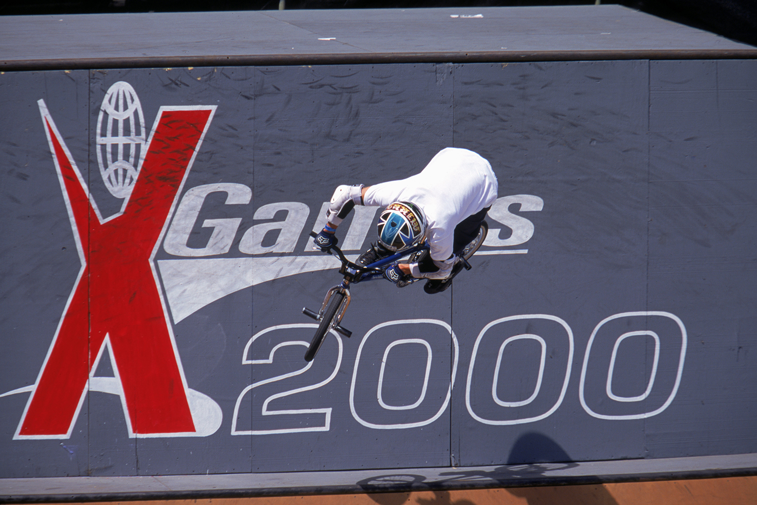 Dave Mirra at X Games in the summer of 2000.