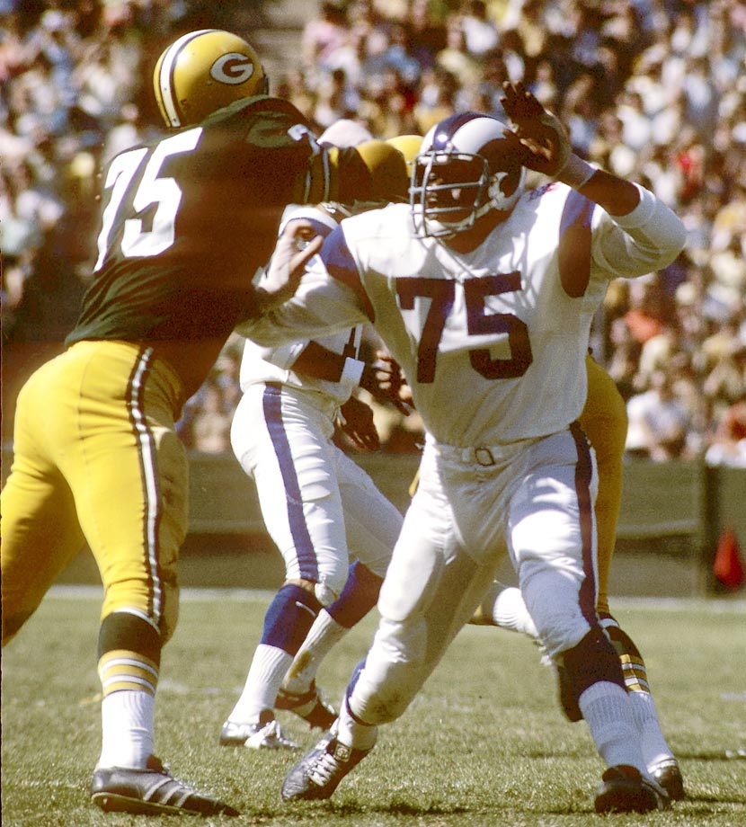 The NFL banned Deacon Jones' favorite weapon, the head slap, in 1977.