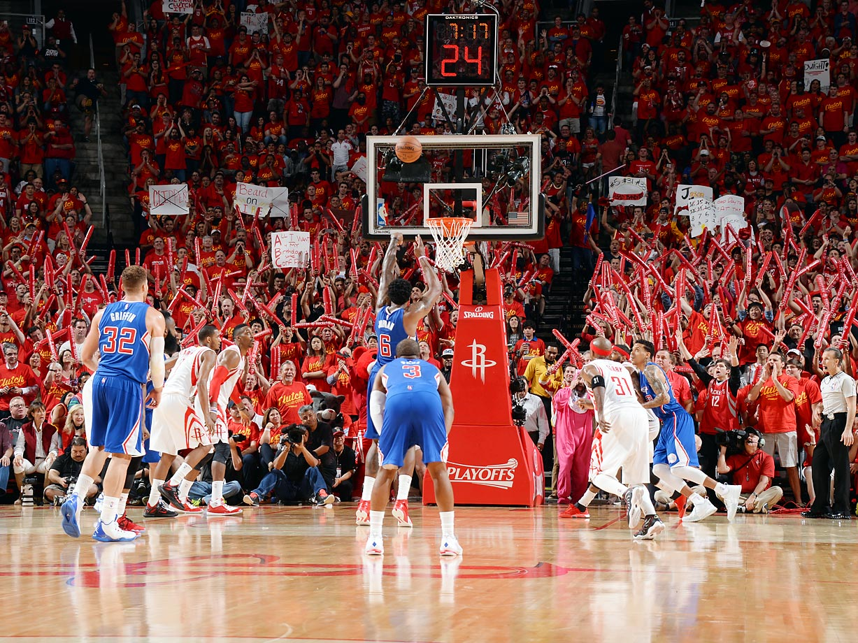 May 17, 2015 against the Houston Rockets.