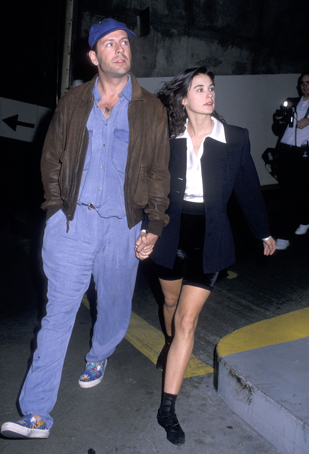Demi Moore and Bruce Willis :: Getty Images