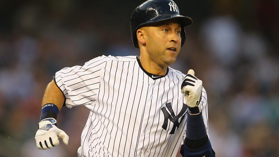 Derek Jeter's .268 batting average, .324 on-base percentage and .327 slugging percentage this season are all career-low marks.
