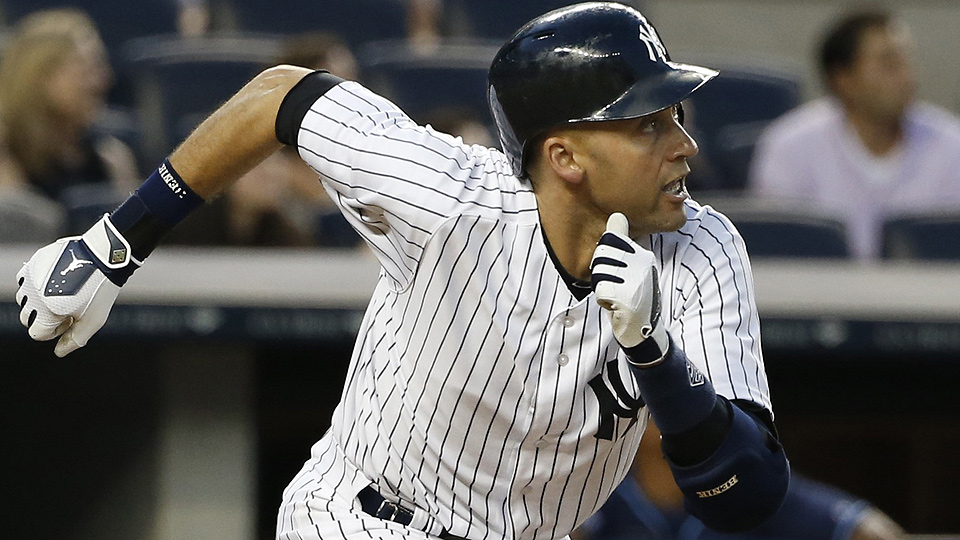Derek Jeter is in line to start his ninth All-Star Game despite a career-worst .276/.330/.334 line in 319 plate appearances in his final season with the Yankees.