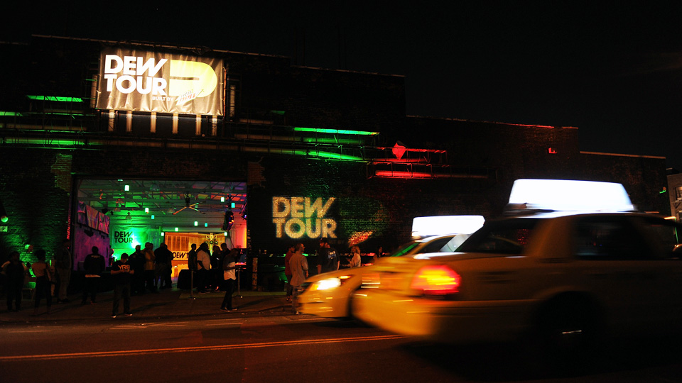 The atmosphere at the Dew Tour Brooklyn Kickoff Party on Thursday, Sept. 18 at the House of Vans in New York, NY. The event celebrated the 10th anniversary of Dew Tour.