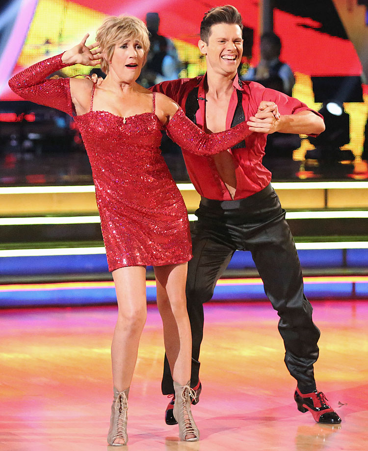 Long-distance swimmer Diana Nyad finished in last place with dancing partner Henry Byalikov in Season 18.