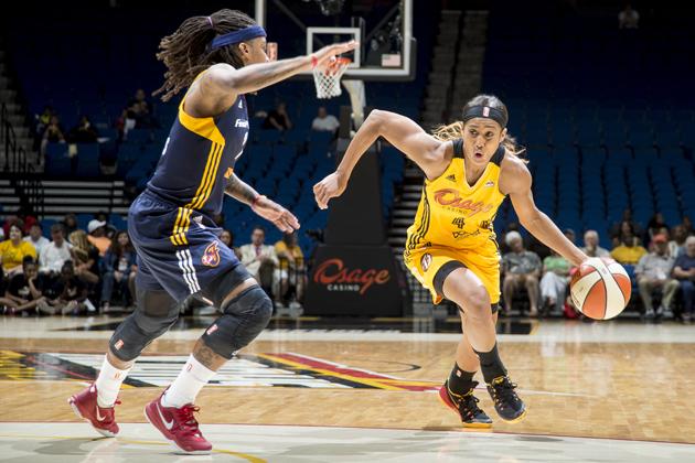 Tulsa Shock point guard Skylar Diggins reveals her go-to ...