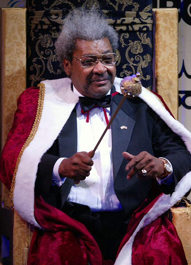 "Don King is boxing's most famous promoter, an icon of the sport who made a career out of hyping fights. He notably coined the ""Rumble in the Jungle,"" one of the most famous fights of all-time, between Muhammad Ali and George Foreman."
