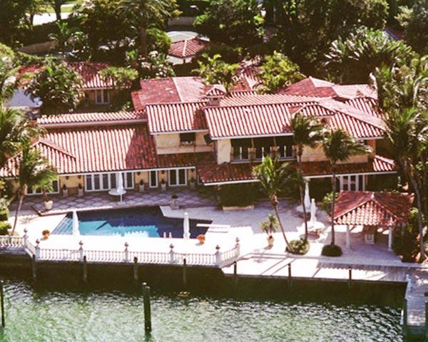 Wade's Miami Beach home.