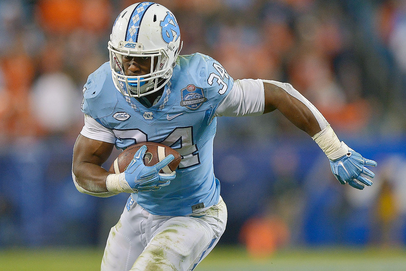 Hood quietly amassed 1,463 rushing yards in 2015 to guide the Tar Heels' ground game. Now with quarterback Marquise Williams gone, Hood is poised to become the focal point on North Carolina's offense.