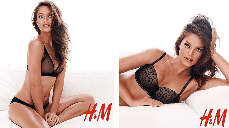 Emily DiDonato for H&M Lingerie