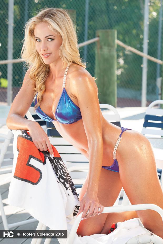 Emily Phelps :: Hooters Calendar 2015