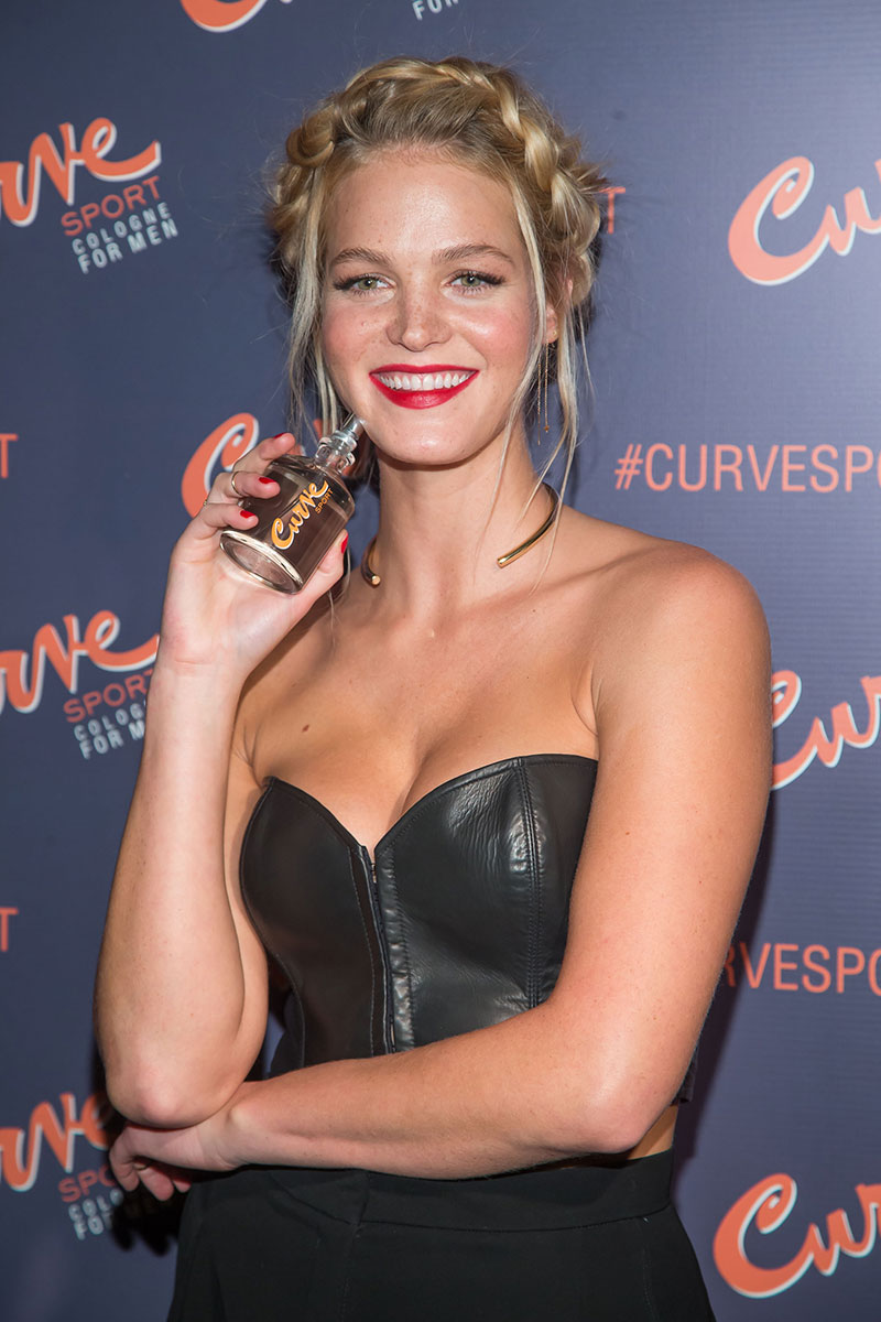 Erin Heatherton attends the Curve Sport Launch