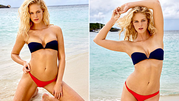 fill in the dots with si swimsuit rookie erin heatherton