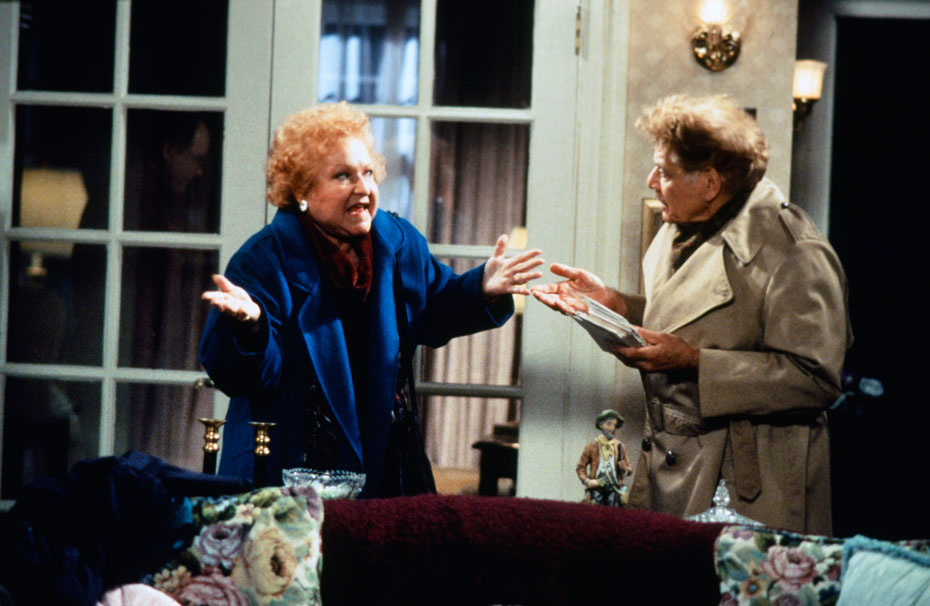 Estelle Harris and Jerry Stiller :: Getty Images