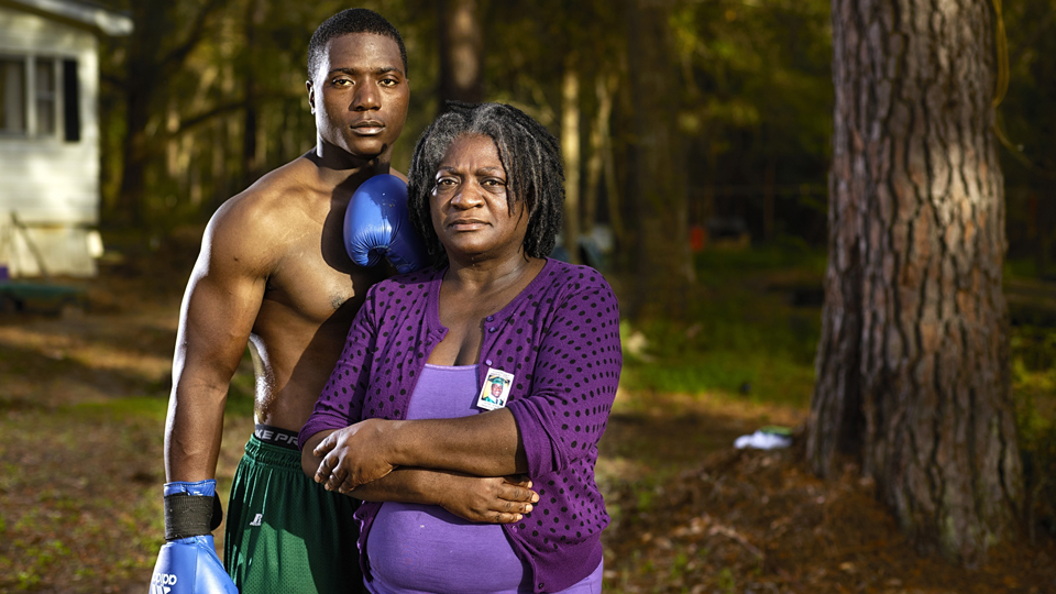 Left behind in boxing, intercollegiate heavyweight champ Willie Ferrell has found an outlet for his grief, while Georgia always has Jonathan near her heart.