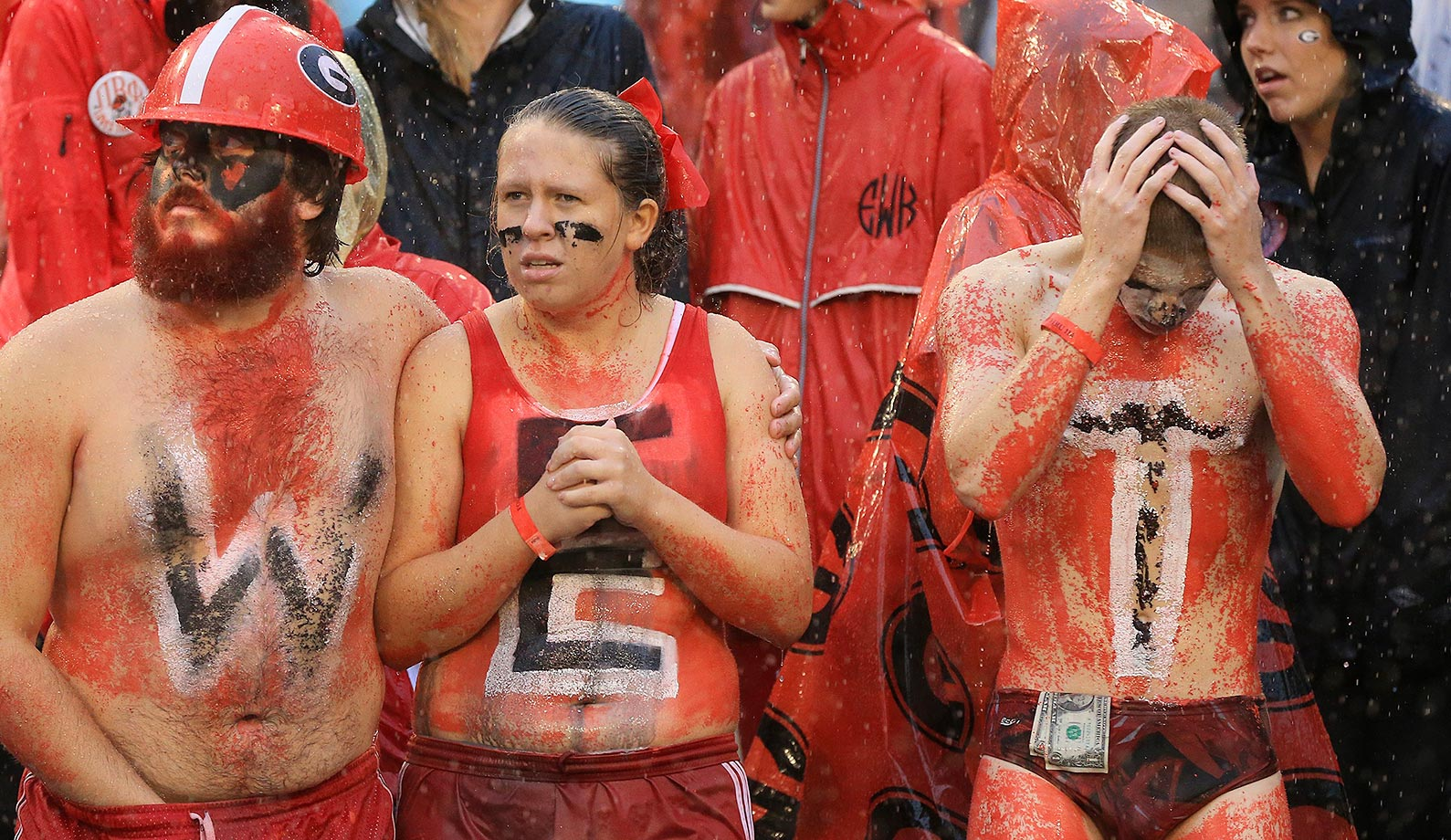 Georgia fans—the more you look the more disturbing.