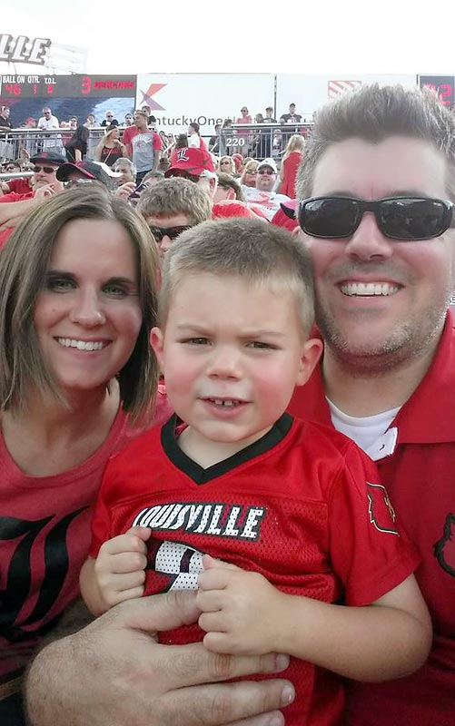 #KeepGoodGoing @SInow at Louisville vs Wake Forest football game.