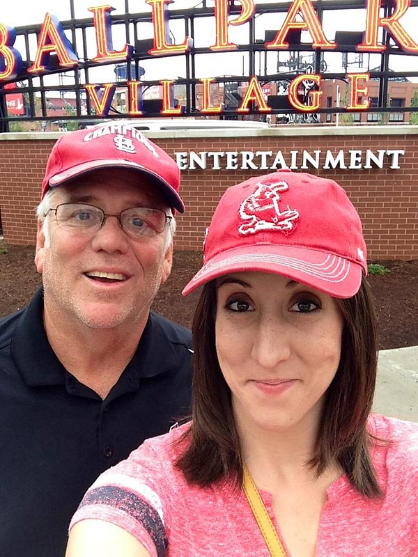 @SInow My dad and I at @BPVSTL before a @Cardinals game last summer! #KeepGoodGoing