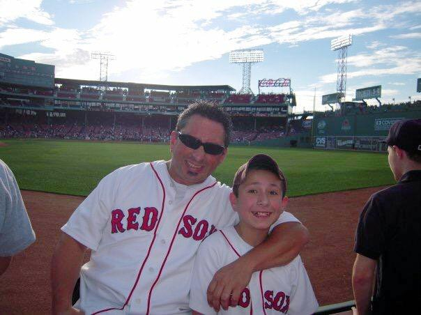@SInow me and my dad years ago at a RedSox game! #KeepGoodGoing