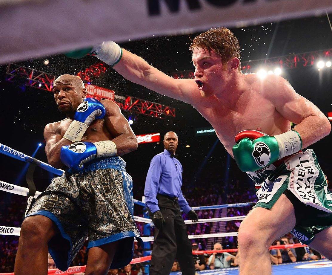 Mayweather walked away with a majority decision against Saul Alvarez as he unified the junior middleweight world titles.