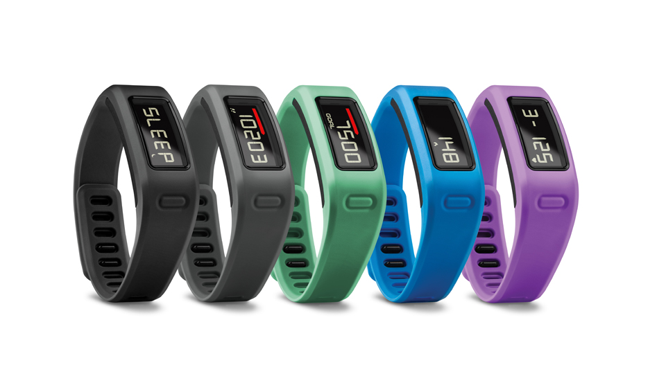 Garmin's Vívofit combines many features of existing wearable technologies with their own spin on fitness tracking.