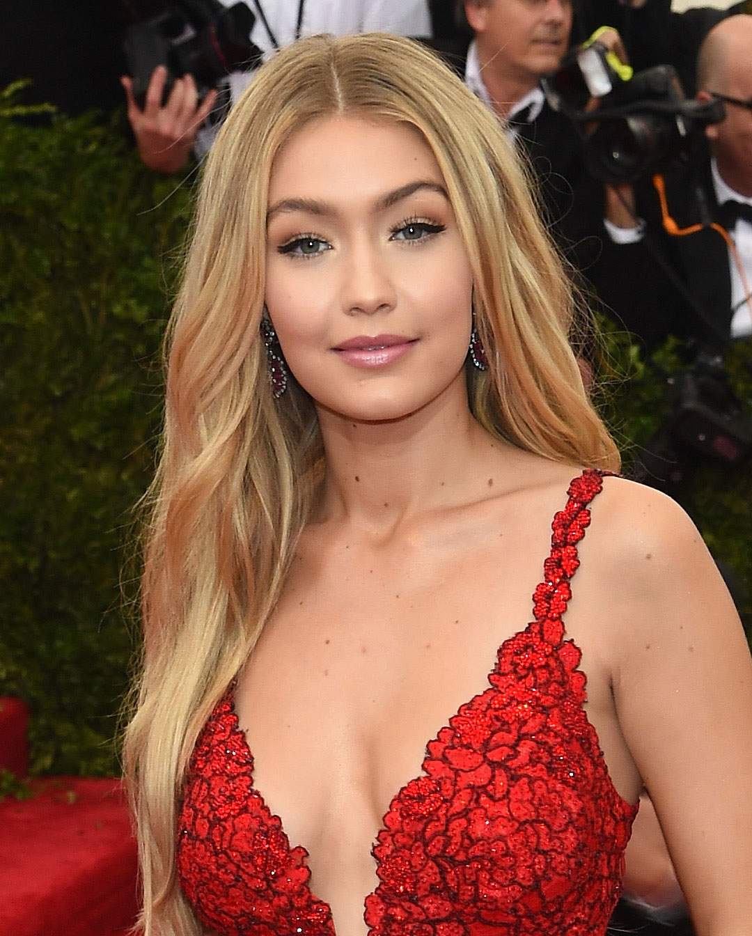 Gigi Hadid attends the 'China: Through The Looking Glass' Costume Institute Benefit Gala at the Metropolitan Museum of Art.