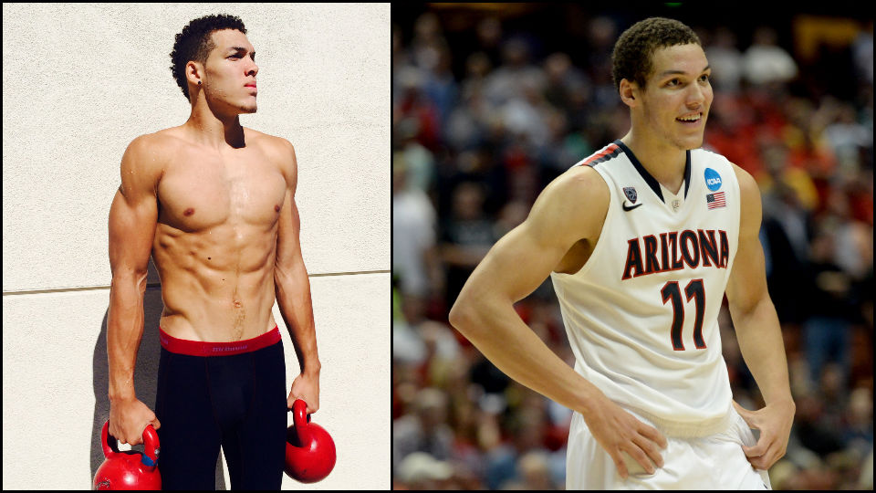 With the fourth overall pick in the NBA draft, the Orlando Magic selected Arizona forward Aaron Gordon.