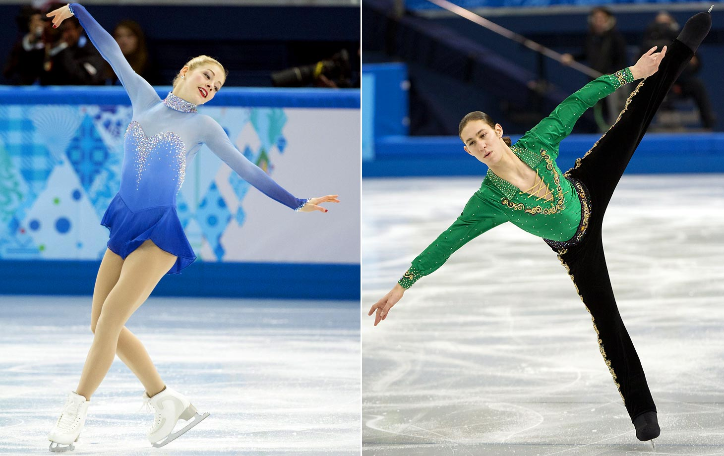 Sochi did not yield very good results for American figure skaters. Though Meryl Davis and Charlie White won the gold medal in the ice dance event, the team failed to capture any other gold medals. The United States women did not win a single medal, the second straight Olympics during which the women have failed to bring home any hardware. The U.S. also earned bronze in the team free dance, but overall the Americans did not quite attain the team's desired medal count.