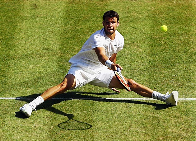 Grigor Dimitrov made the semifinals at Wimbledon, a career-best result in a Grand Slam tournament.