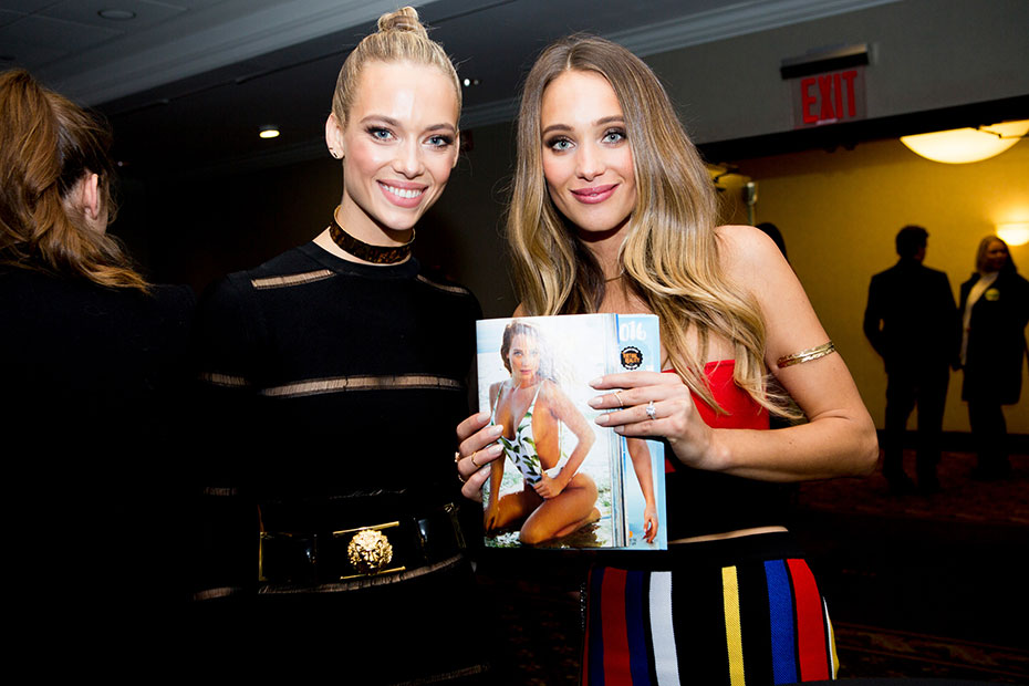 Hannah Ferguson and Hannah Davis :: Photo by Taylor Ballantyne