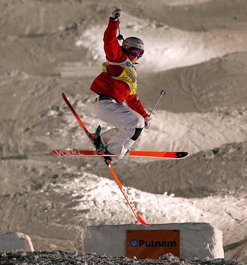 After winning a gold medal at Vancouver in 2010, Kearney will take to the slopes in Sochi to aim for a repeat. She also participated in the Turin Olympics in 2006. Hannah Kearney's Facebook page.