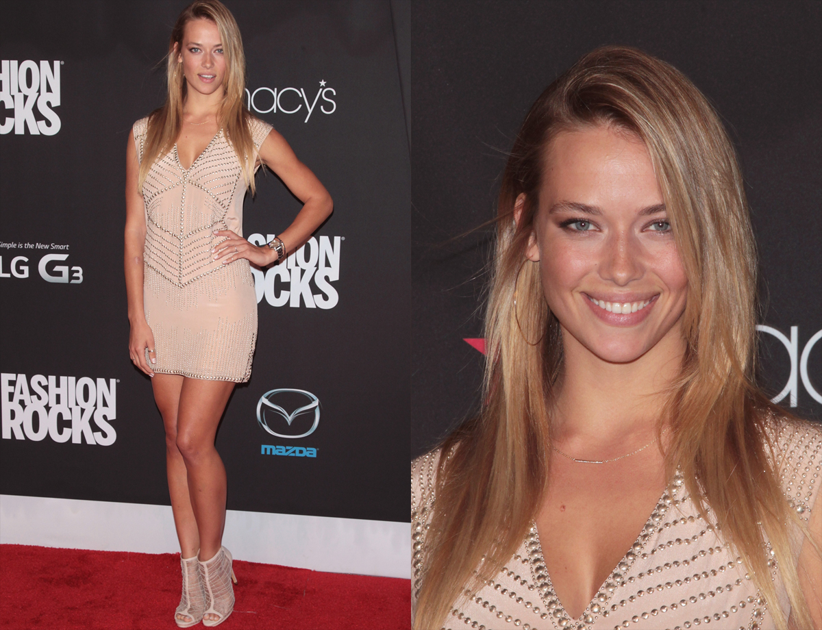 Hannah Ferguson at Fashion Rocks
