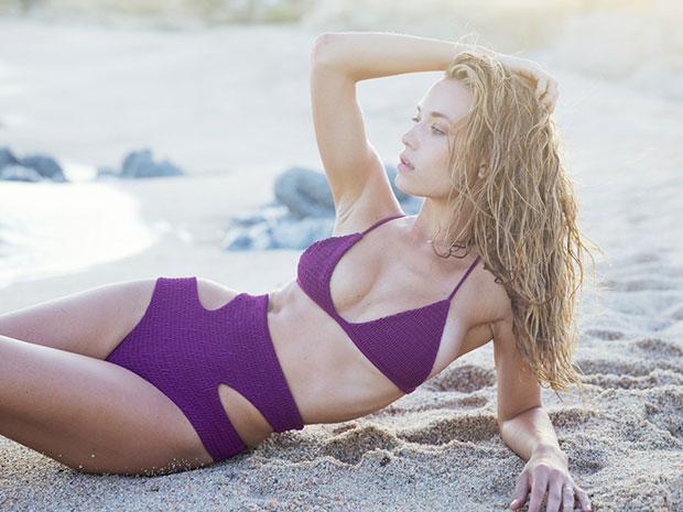 Hannah Ferguson For Tori Praver Swimwear