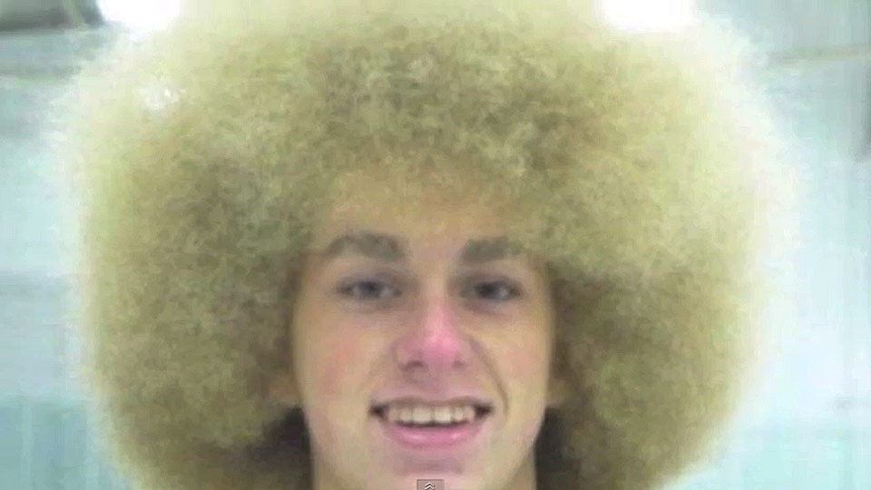 Hockey Hair Video Minnesota High School Tournament