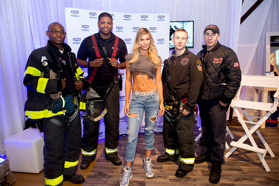 Samantha Hoopes and NYFD :: Photo by Taylor Ballantyne