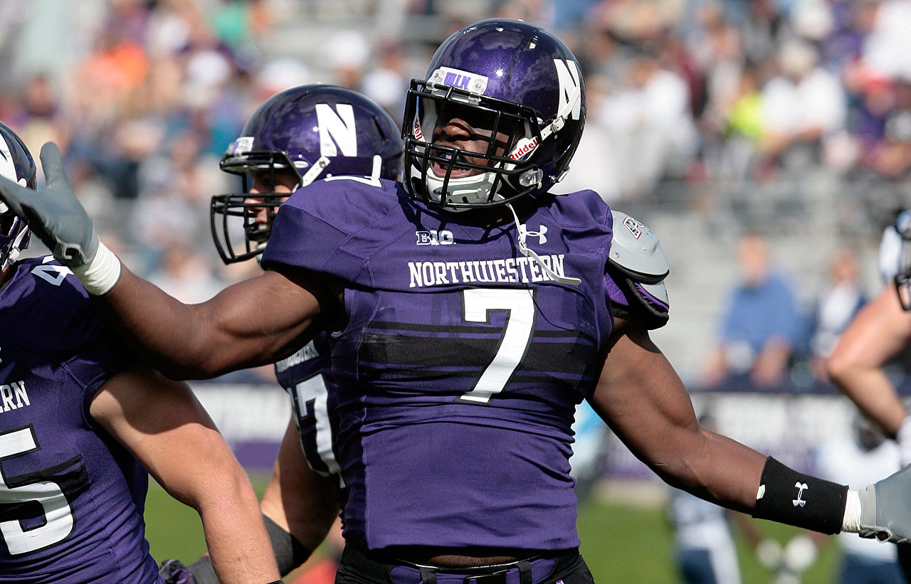 Used in a sentence: Ifeadi Odenigbo recorded 8.5 sacks for Northwestern as a third-down pass-rusher over the last two seasons.