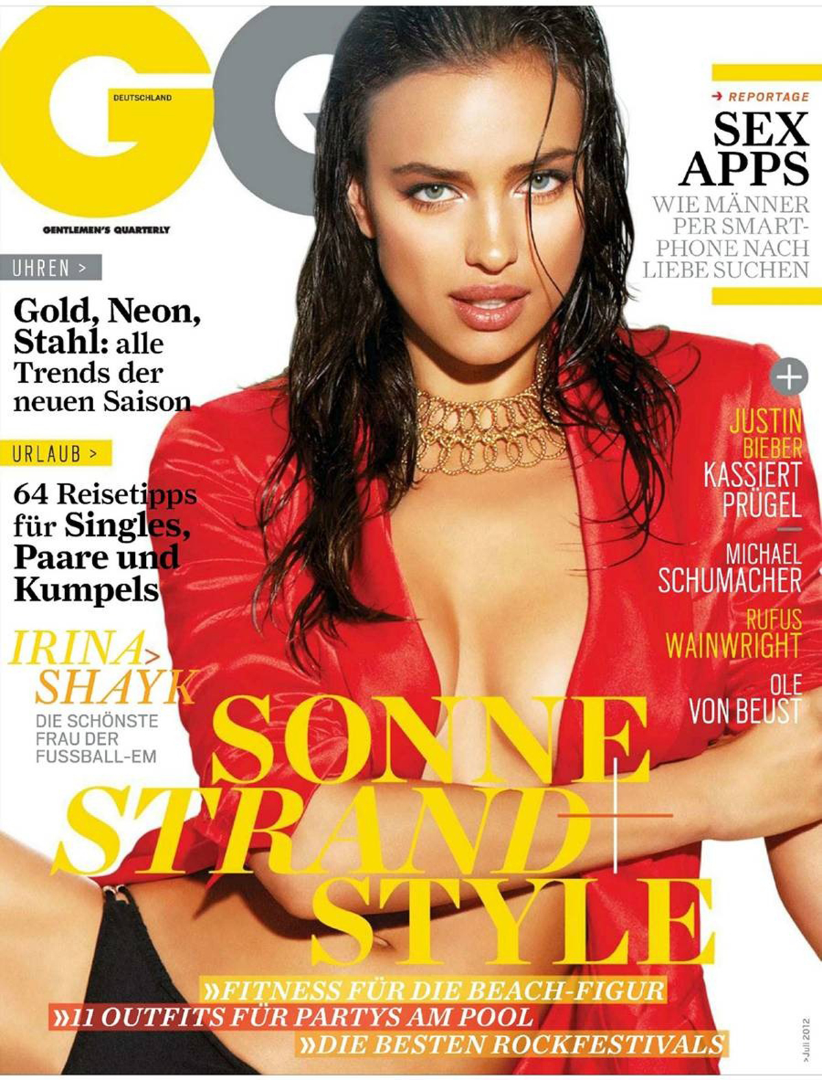 GQ Germany, July 2012